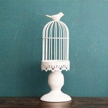 Free Shipping Iron Candle Holder Europe Style Birdcage Lantern Continental Holders Wedding