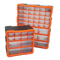 Great Tool Container Wall Hanging Drawer Compartment Storage Box