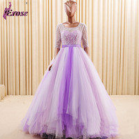 Ball Gown Tulle Appliques Wedding Dress Lace Long Bridal Gown Sexy Hot Sale
