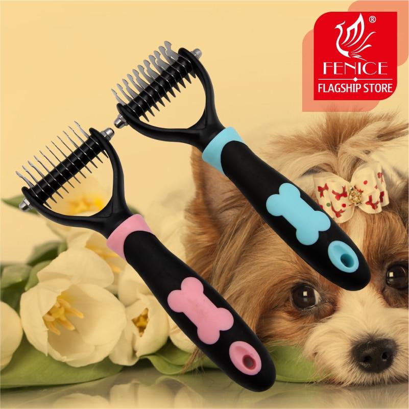 επαγγελματική χτένα περιποίηση μαλλιών αμφίδρομη άνοιγμα κόμβων ανοίγματος μη ολίσθησης λαβή από ανοξείδωτο χάλυβα δόντια