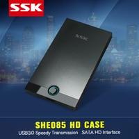 5 3 SSK SHE085 Aluminium Alloy USB 3.0 HDD Enclosure 2.5 Inch SATA USB HDD CASE Hard Disk Box External Hard Disk USB HDD Enclosure (3)