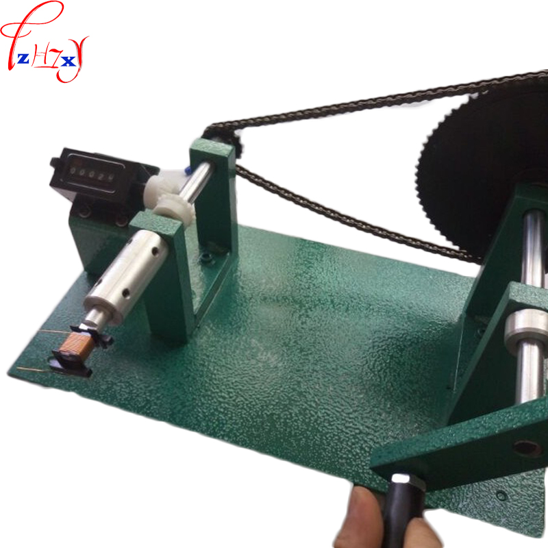 NEW Manual winding machine YT-288 manual counting winding machine electronic transformer winding machine 1pc new manual shoe making sewing machine