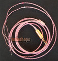 For 1pcs DIY Hifi Silver Plated updated Cable for Sennheiser Shure UE Westone earphone Headset