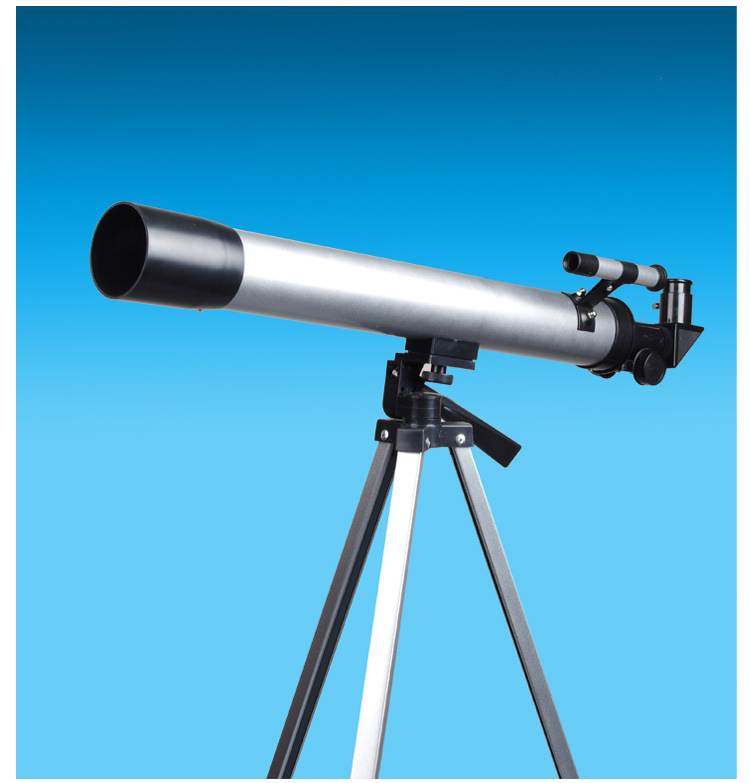 HD Astronomical Telescope Finderscope Protable Tripod Powerful Terrestrial Space Monocular Telescope Moon Watching Kids Gift Toy jiehe high quality cf350 60mm monocular space astronomical telescope with tripod powerful zoom monouclar telescope high times