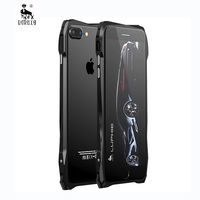 Luphie Mobile Case For Iphone 7 Metal Case Shockproof Cover For Iphone7 Phone Bag Case Aluminum