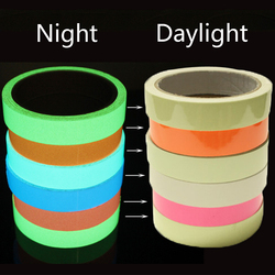 New Luminous film fluorescence Self-illuminating tape glow in the dark Warning Ribbon Night Vision Car Stickers Car-Styling