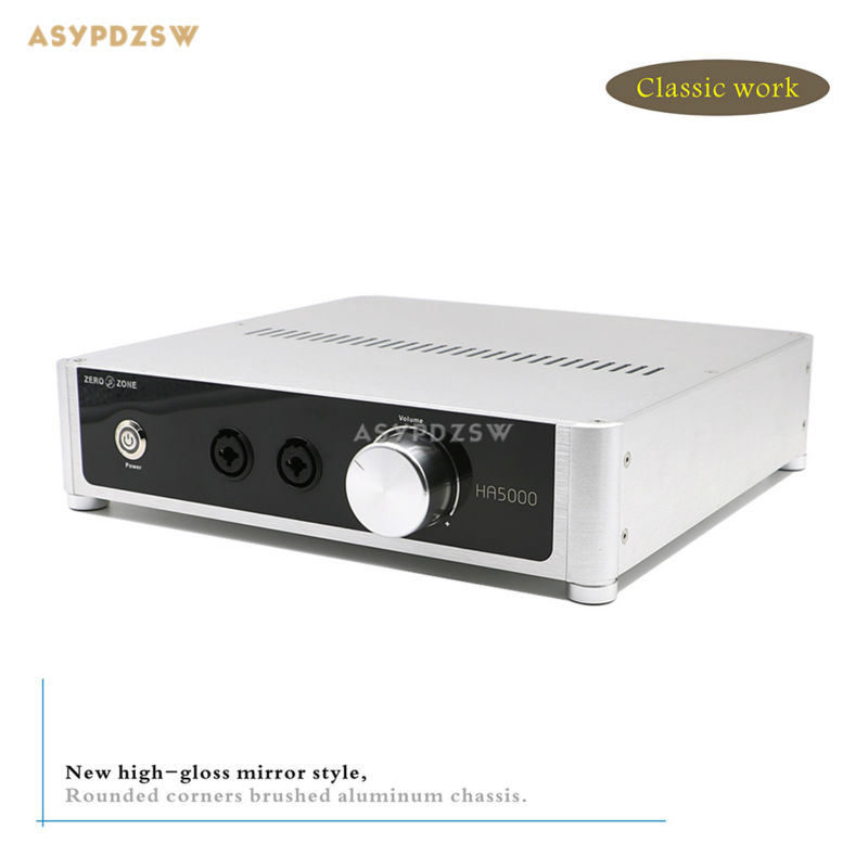 New Classic work AT-HA5000 Headphone amplifier complete machine (Base on Original HA5000 Headphone amp Circuit)