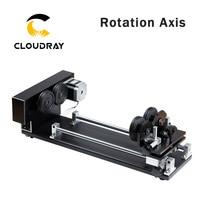Cloudray роторная гравировка вложение с роликами шаговые двигатели для лазерной гравировки резки Модель A