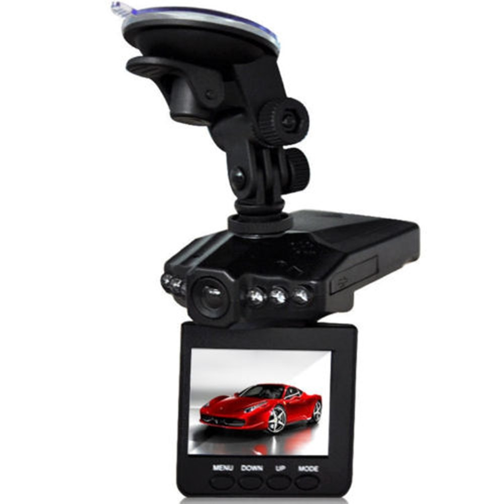 New 2 5 LCD HD Car DVR 6 leds Night vision 270 Degree Car font b