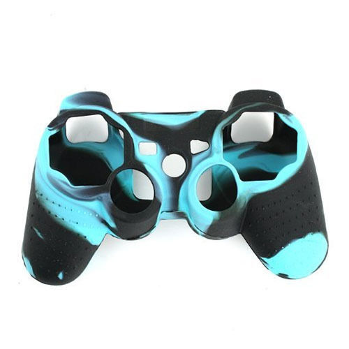 Silicone Protective Skin Case Cover For Sony For PS2 For PS3 Controller Game Accessories