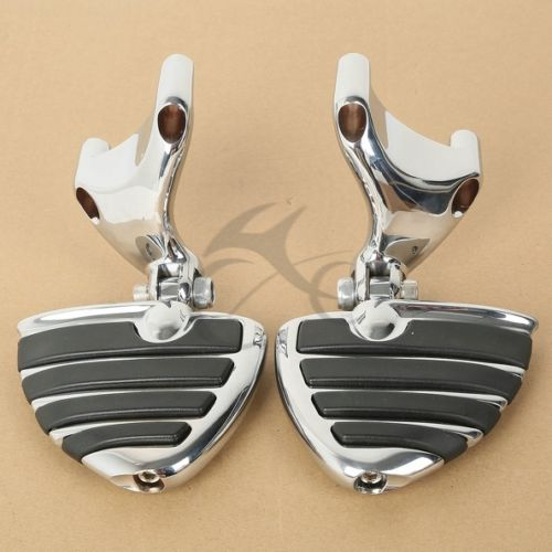 Chrome Footrest Pegs W/ Mount For 2004-2013 Harley 883 1200 XL Sportster 05 06
