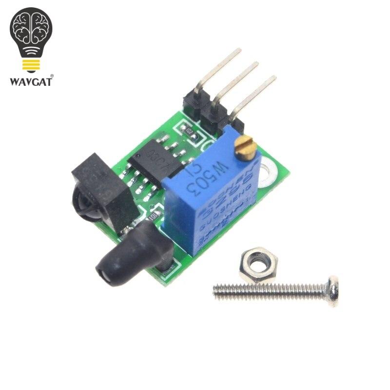 WAVGAT infrarouge numérique évitement d'obstacle capteur, super petit, 3-100 cm réglable, ma de courant