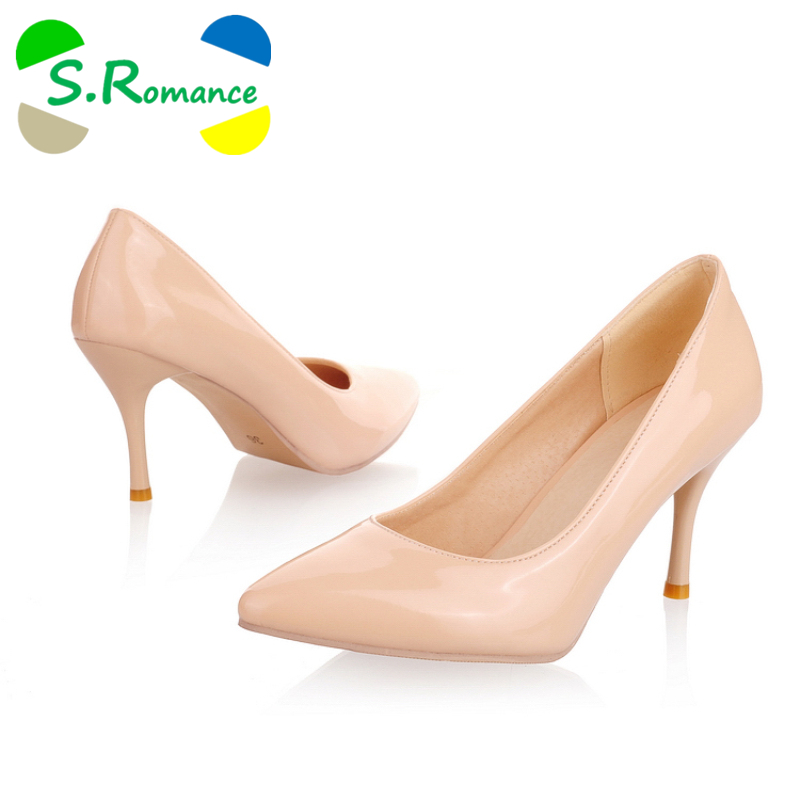 Compra shoes woman pumps nude color y disfruta del envío gratuito en  AliExpress.com 60652fc635bf