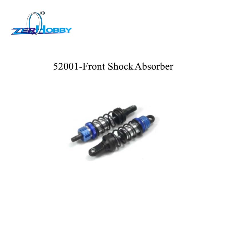 RC CAR PARTS ACCESSORIES FRONT REAR SHOCK ABSORBER FOR HSP BLUE ROCKET ON ROAD CAR 94052 (PART NO. 52001, 52002) kyb car left shock absorber 338048 for citroen lifan 520 auto parts
