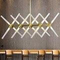 Светодиодный подвесной светильник в гостиную  подвесной светильник  светильники в скандинавском стиле  светильники для столовой  алюминие...
