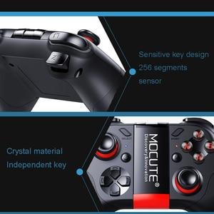 Image 3 - Mocute 054 Gamepad Pubg mobil Pubg denetleyicisi Android Joystick kablosuz VR Joypad Smartphone Tablet PC telefon akıllı TV oyun pedi