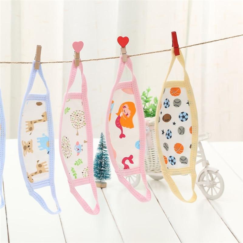 Children Cotton Breathable Breathing Masks Baby Cartoon Breathing Masks Face Mask Respirator Baby Bibs