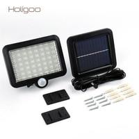 Holigoo Solar Power 56 LED Solar Light Outdoor LED Garden Lights Motion Sensor Floodlights Spotlights Security Street Wall Lamp