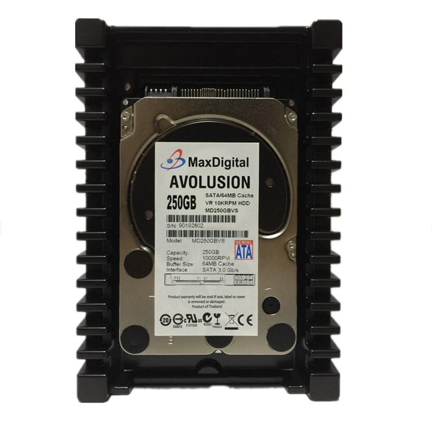 VelociRaptor 250 GB 10000 RPM 64MB Cache SATA 6.0Gb / s 3.5