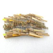 500 шт./лот 50 значения каждый 10 шт. 1/2 Вт Мощность 0.5 Вт 5% Допуск углерода Плёнки Резисторы ассорти ассортимент Комплект 1.2 ohm-1m Ом