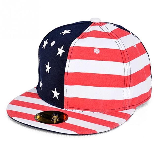 Bandiera americana Del Cotone a Stelle E Strisce Bandiera Cappelli per le  donne degli uomini di 8f08742b5b8b