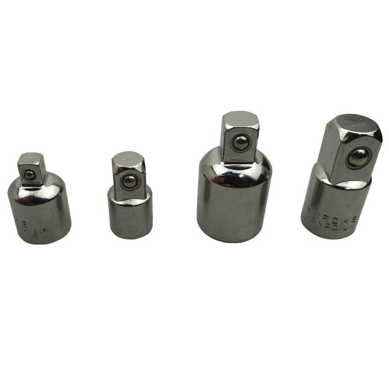 CRV Ratchet Socket Adaptateur Réducteur Convertisseur Set 1/4 3/8 1/2 4 pcs/ensemble Accessoires D'outils Électriques