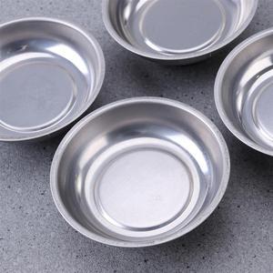Image 3 - WINOMO 4 pièces 3 pouces en acier inoxydable porte outils rond pièces magnétiques plateau bol vis outils de stockage pièces porte plateau