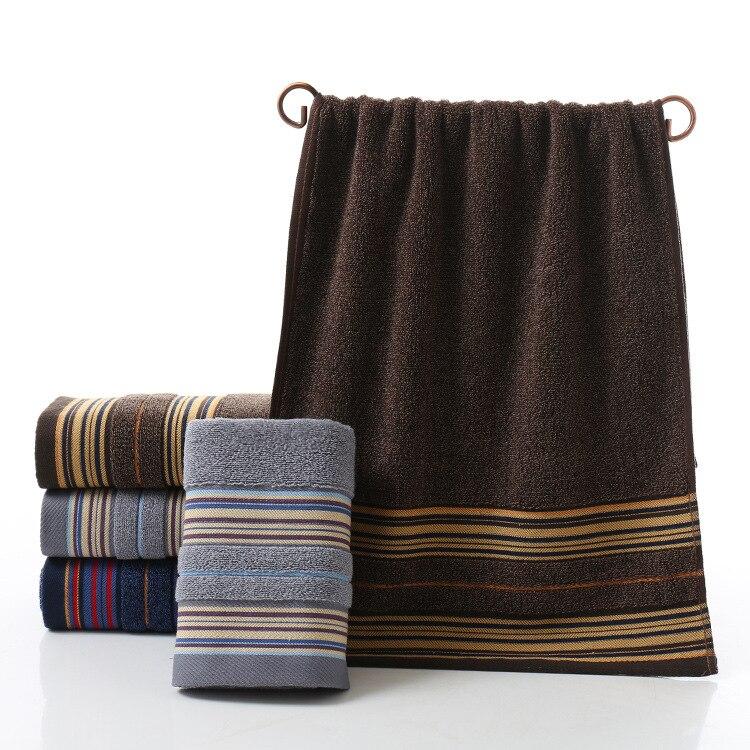75x35cm Quick Dry Large 100%cotton Plaid Face Hair Bath Towel Bath Gym Towel Family Towels bathroom wholesale