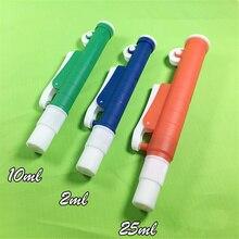Пипетка заполнитель с насосом для одноразовых пластиковых и стеклянные пипетки размеров 2 10 25 мл