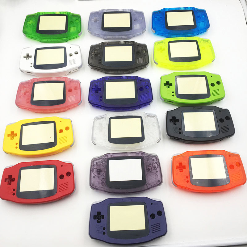 Plastic Colorful  Housing Shell Case Repair For Nintendo Gameboy Advance GBA