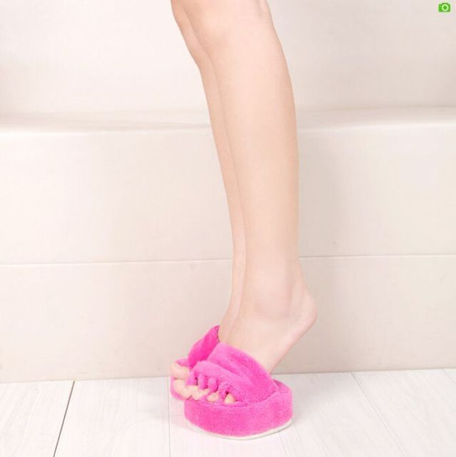 2b053f204913 1Pair Dieting Legs shoes Weight Loss Slimming Slipper Non-Slip Shoe Foot Leg  Body Shaper