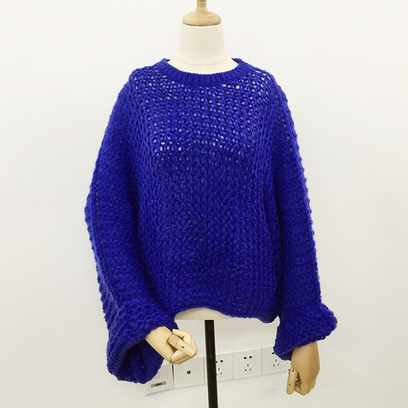 Jesen Žene pleteni pulover pulover 2018 slobodni puloveri puloveri - Ženska odjeća - Foto 2
