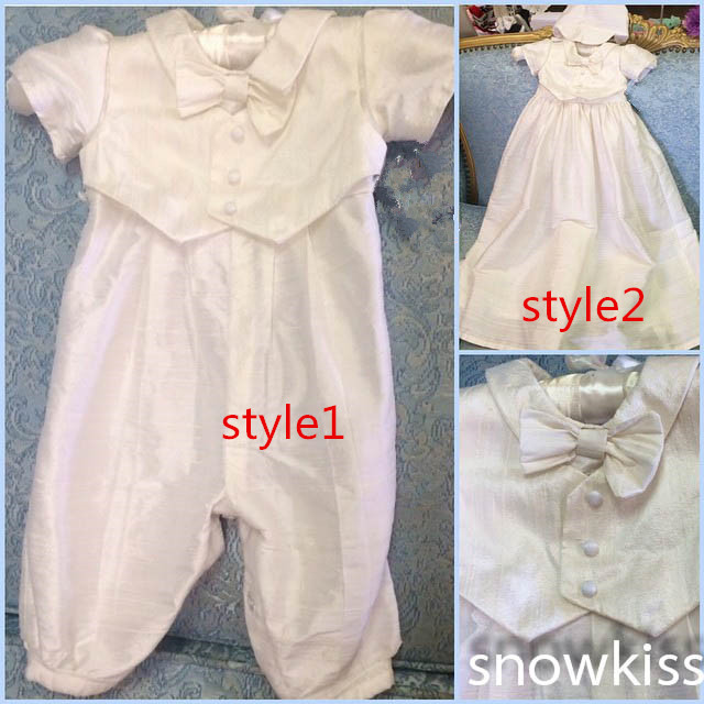 8157728fc726 2016 Christening Gown with Bonnet Infant Boy Baby Pant Suit ...