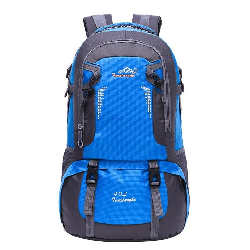 40/60L Outdoor Women And Men Travel large capacity Mountaineering Backpack Brand Quality Bag Packs Waterproof Nylon Rucksacks
