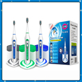 New YASI Rechargable Waterproof Sonic Electric Toothbrush FL-A12 With UV Sanitizer 3 Replacement Brush Heads 5 Operation Modes