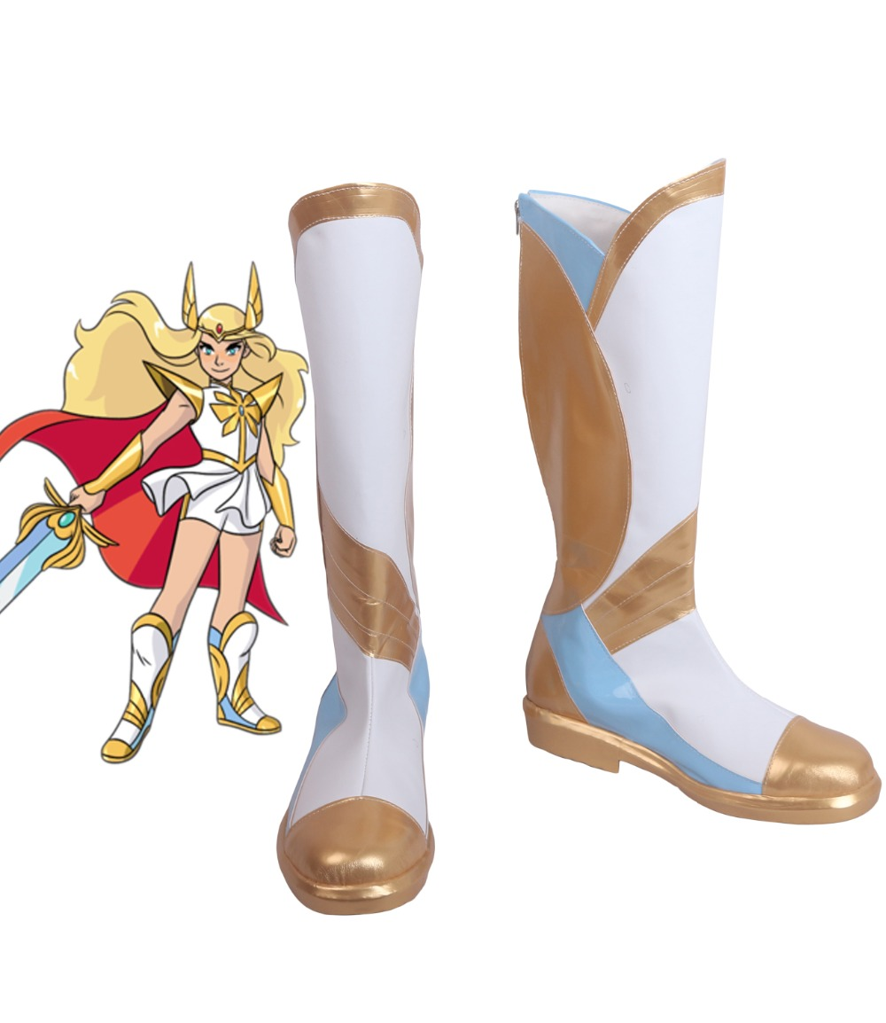 Princess Adora She Ra Shoes Cosplay She Ra and the Princesses of Power She Ra Cosplay