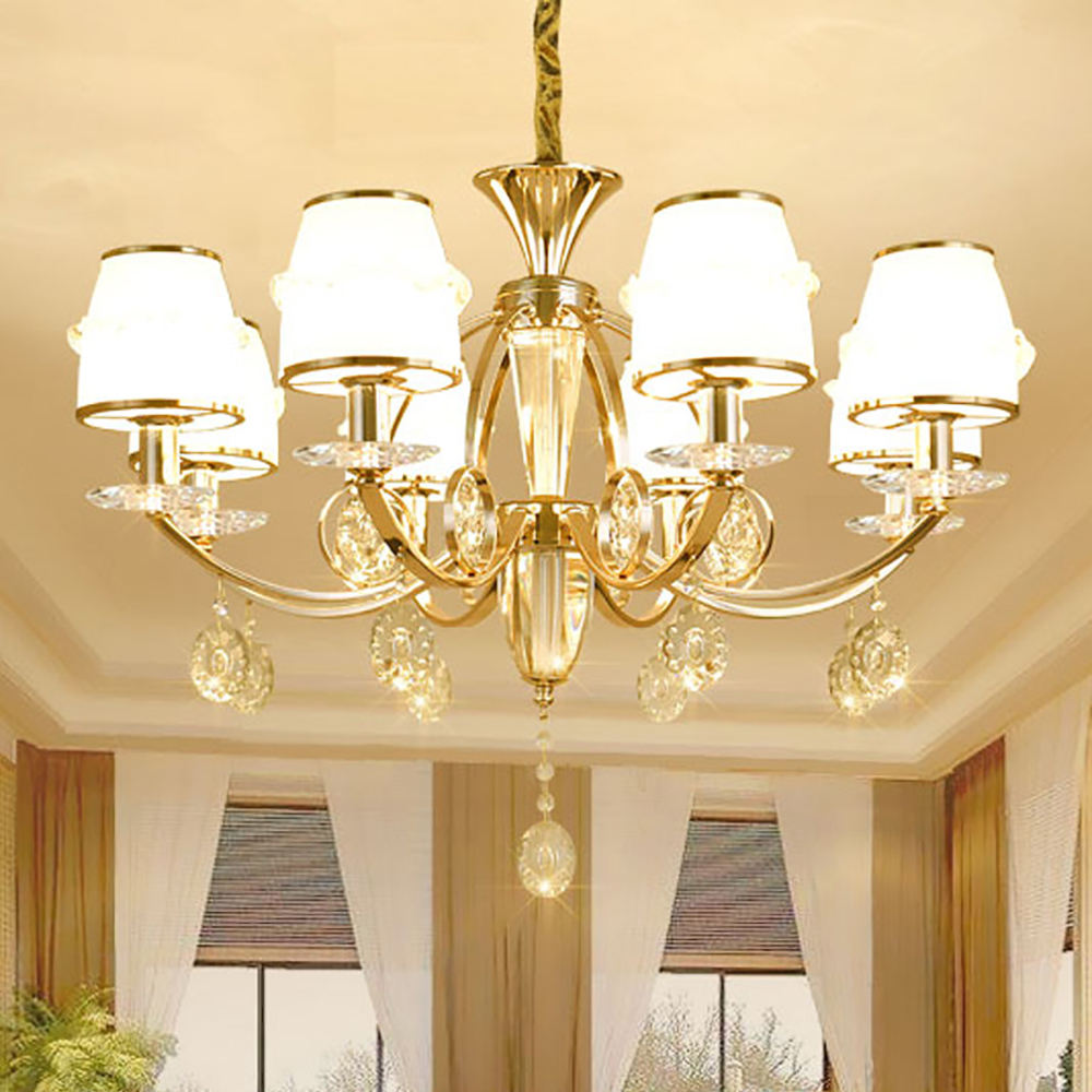 Crystal Chandelier Quality Types: Aliexpress.com : Buy High Quality Gold Chandelier Baccarat