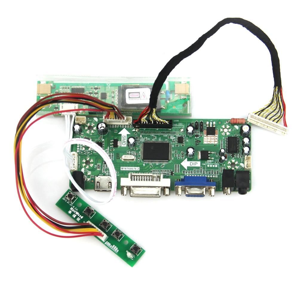 M.NT68676 LCD/LED Controller Driver Board(HDMI+VGA+DVI+Audio) For LQ164M1LA4A  1920x1080 LVDS Monitor Reuse Laptop