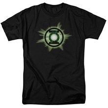 Justice League Green Lantern Superheroes Logo Summer Casual Men's T-shirt