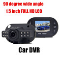 Hot selling Car DVR Vehicle car DVR Video Recorder 90 Degree Wide Angle 1.5 inch 90 degree wide angle G-Sensor