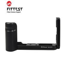 FITTEST LB XT3 على شكل حرف L تبادل لاطلاق النار سريع الإصدار L لوحة L قاعدة قوس قبضة حامل ترايبود قبضة اليد ل Fujifilm فوجي XT3 X T3 DSLR