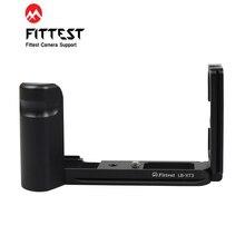 החזקים LB XT3 L בצורת לירות שחרור מהיר L צלחת L סוגר בסיס גריפ חצובה מחזיק יד גריפ עבור Fujifilm פוג י XT3 X T3 DSLR