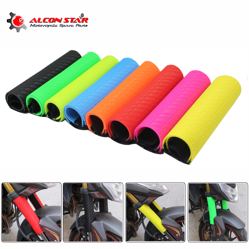 Alconstar- Front Fork <font><b>Protector</b></font> Shock Absorbed Guard Wrap Cover For <font><b>Yamaha</b></font> YZ <font><b>WR</b></font> for Honda CRF for Suzuki RMZ KTM SX EXC 125 <font><b>250</b></font> image
