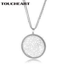 Длинное ожерелье toucheart ювелирные изделия с природным духовным