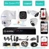 Eyedea 8 CH HDMI Surveillance DVR Recorder 1080P 5500TVL Audio 36x Zoom PTZ Control Night Vision