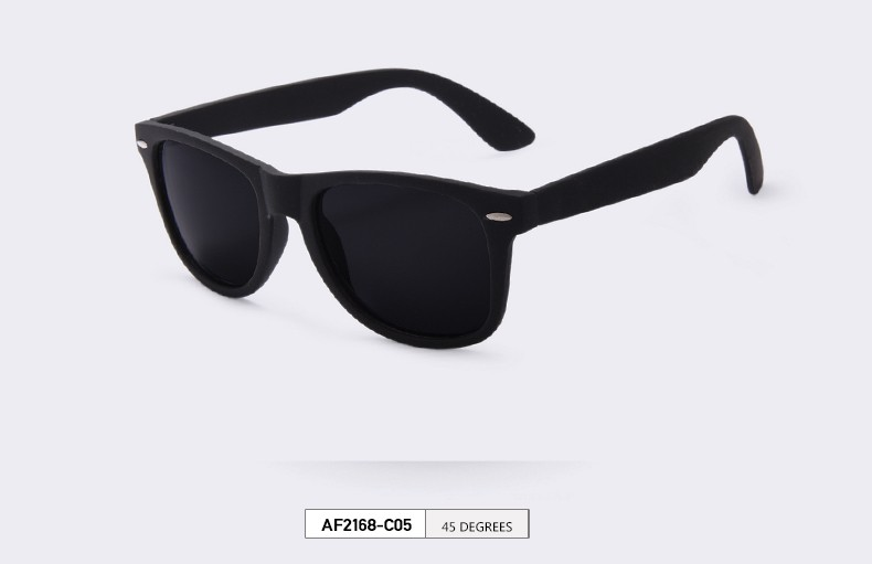 black polarised sunglasses for men
