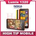 Teléfono móvil NOKIA NOKIA 1320, lumia 1320 5MP GPS 1 GB RAM 8 GB ROM WIFI Bluetooth desbloqueado 3 G 1320 6.0 pulgadas ventanas