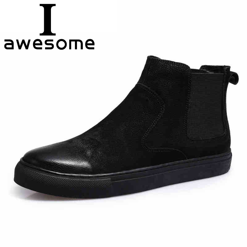 Winter Boots Men Genuine Leather Hombre Martin Boots Fashion Round Toe Breathable Ankle Boots for Men Casual Shoes Botas z suo genuine leather men boots fashion men martin boots high quality ankle boots man winter shoes botas hombre zs16508