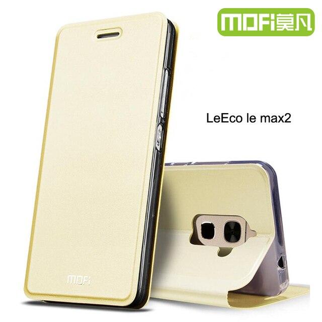 pretty nice 6e6c8 ad22e US $9.01 24% OFF leeco le max 2 flip case leather cover mofi original letv  le max2 x820 back cover stand yzp leeco le 2 max housing letv x821 -in Flip  ...