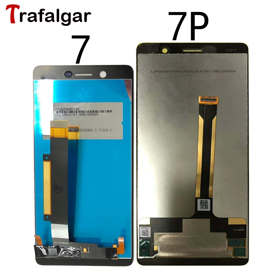 For Nokia 7 Lcd Display Touch Screen Digitizer Assembly Nokia7 61 Plus Replacement Black White In Mobile Phone Lcds From Cellphones